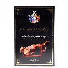 Ветчина сыровяленая свиной Окорок Хамон в нарезке El Pionero - 70 г (Россия)